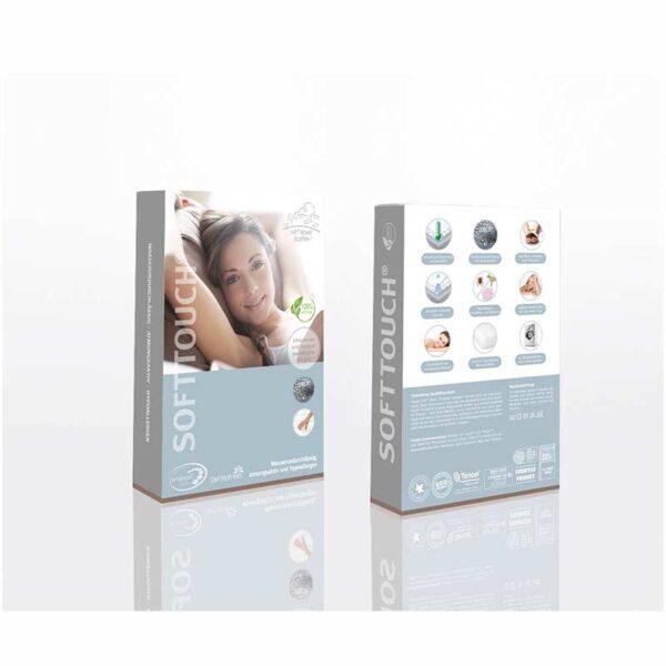 Soft Touch Technologie Verpackung von vorne und hinten